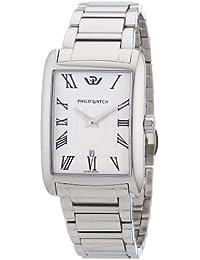 Philip Watch R8253174002 - Reloj analógico para caballero de acero inoxidable plata
