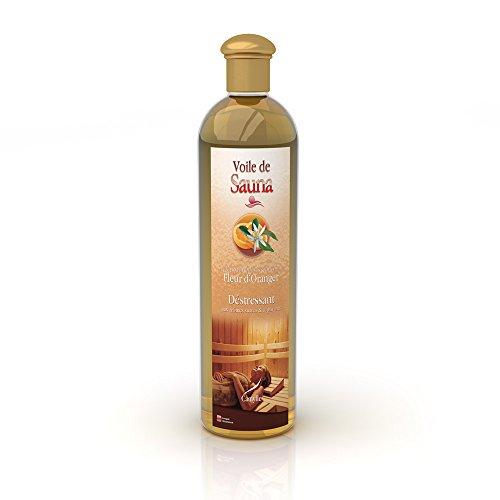 Kräuter-whirlpool (Camylle - Voile de Sauna - Saunaduft aus reinen ätherischen Ölen - Orangenblüte - Entstressend - 500ml)