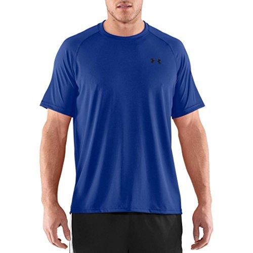 Under Armour Herren Fitness T-Shirt UA Tech Tee Royal / Black