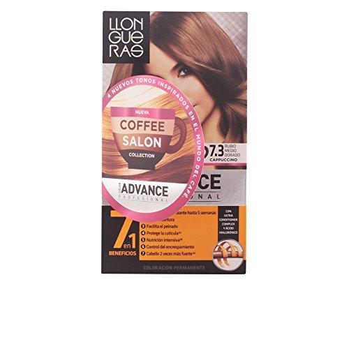 Llongueras Color Advance Colorazione Permanente, Unisex, 7,3 Half Golden Blonde - 60 ml