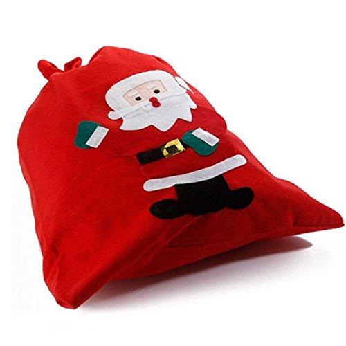Saco regalos Papá Noel VERISA extragrande