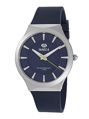 Reloj Marea Analógico Hombre B54154/3 Correa de Silicona Azul