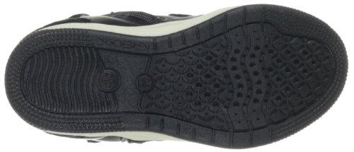 Geox J CREAMY D J34L5D05422C9999, Sneaker Ragazza Nero (Schwarz (BLACK C9999))