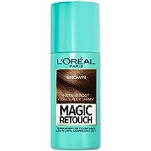 L'Oreal Paris Spray Retoca Raíces Magic Retouch Castaño - 75 ml