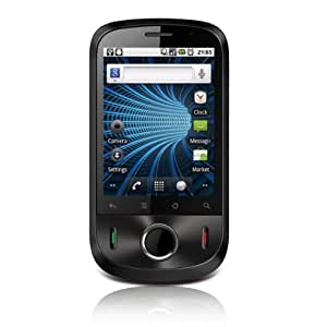 Huawei IDEOS with Google Smartphone (Android 2.2, WLAN-Hotspot-Funktion, TFT-Touchscreen, 3.2 MP Kamera) schwarz