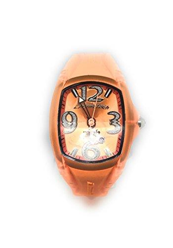 Chronotech Unisex Orange Clock