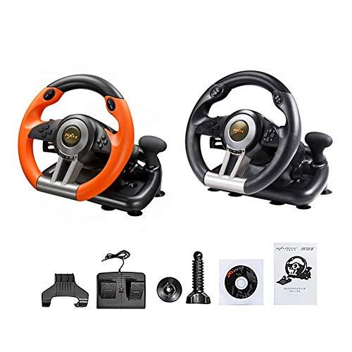 PC/PS3/PS4/X-ONE - DRIFT O.Z. Racing Wheel USB (Schaltknauf, Gas- Und Bremse-Pedale - Vibration, 180° Lenkbereich - Controller Für Driving Games Oder Andere Simulator-Spiele) ()