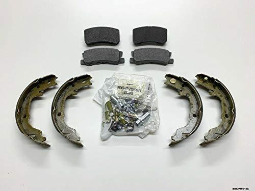 Carlson Nty pastiglie freno posteriore freno di stazionamento, scarpe e kit di montaggio Caliber PM 2007-2012302mm disch