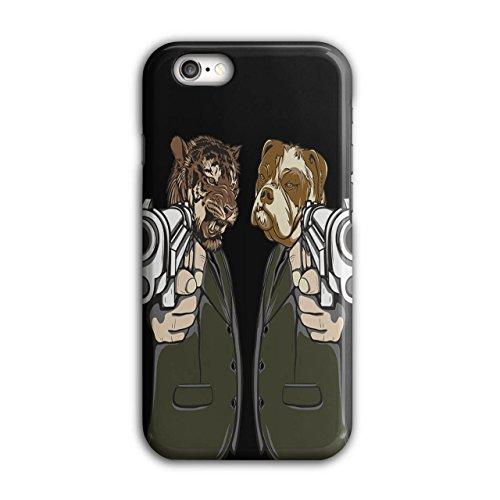 Tier Mafia Gewehr Gangster Tier Maske iPhone 6 / 6S Hülle | (Kostüme Reiten Tier)