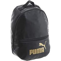 PUMA Unisex Backpack - WMN Core Up Archive Backpack, Logotipo de Puma Cat, 33x3 0x13cm (Al x An x Pr) (negro)