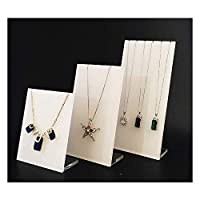 Semi White Clear Display Stands for Jewellery (Necklace Panels)