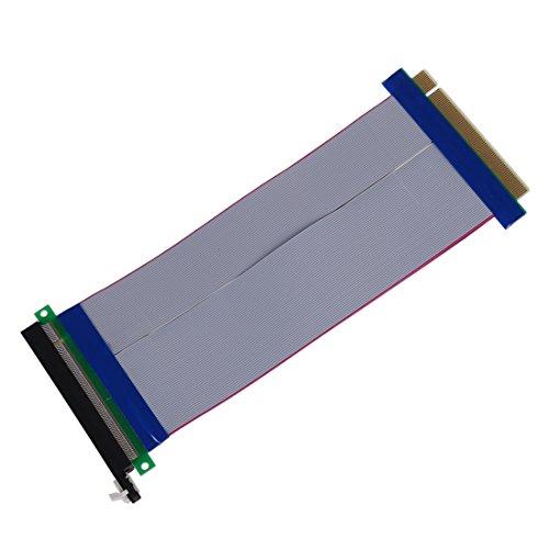 Cikuso PCI-E Express 16X Cable Extension Extensor