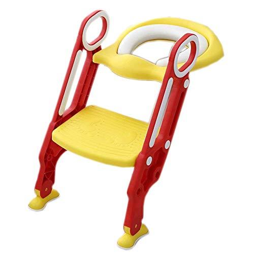 YLLXX Chaise De Toilette Chaise De Toilette pour La Toilette Et Commode Bébé Chaise De La Chaise De Toilette Chaise De Toilette Pot De Toilette Potty Assis Chaise (36.5 * 13.6 * 65Cm) Bébé toilette