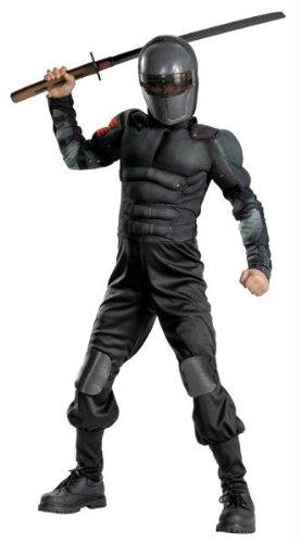 Kostüme für alle Anlässe dg42566K Snake Eyes Klasse Muscle Ch (Eyes Erwachsenen Snake Kostüme)