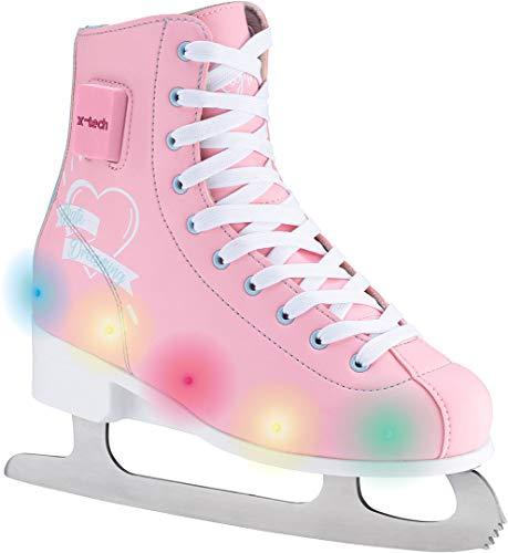 X-TECH DREAMING LED Schlittschuh pink/lightblue/white, 35-38