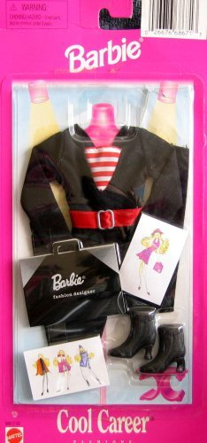 Designer-outfit (Barbie Cool Career Damen Fashion Designer Outfit (1997 arcotoys, Mattel))