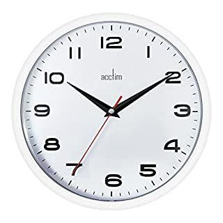 Acctim 92/301 Aylesbury Wall Clock White