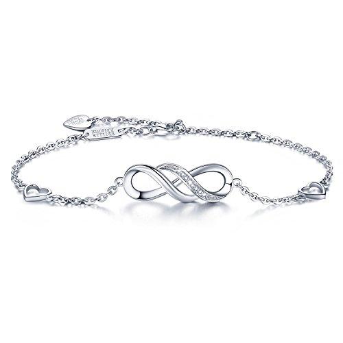 Jewelry & Watches Cuori 14kt Oro Rivestito Legato Cavigliera Braccialetto Infiniti Di Da 9 A 12 Grade Products According To Quality Fine Jewelry
