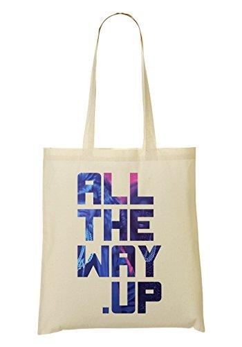 LukeTee The Way Up Music Collection Keep It Simple Tragetasche Einkaufstasche (Wayne Scott)
