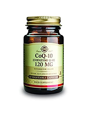 Solgar 120 mg Coenzyme Q-10 Vegetable Capsules - Pack of 30 by Solgar