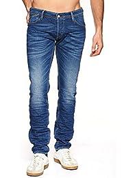 Jeans Japan Rags Homme 711 Basic Bleu