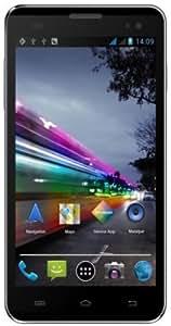 Polaroid Topaz Smartphone débloqué dual-SIM 4.5 pouces 4 Go Android 4.2 Jelly Bean Noir