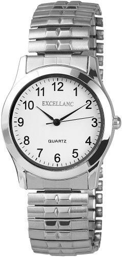 Excellanc Herren-Uhren mit Metallzugband 270422000006