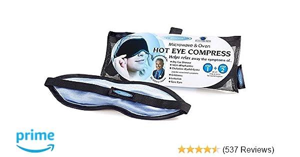 The Eye Doctor Eye Mask - Hot Eye Compress Heat Bag for Dry