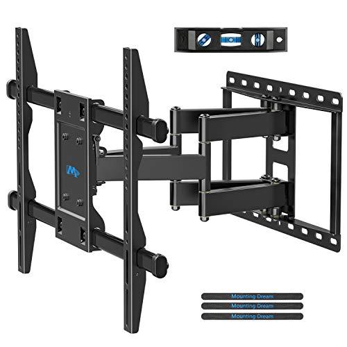 Mounting Dream TV Wandhalterung Schwenkbar Neigbar Ausziehbar Fernseher Halterung für die meisten 42-70 Zoll LED, LCD, OLED und Plasma TVs mit VESA 200x100-600x400mm bis zu 45,5kg, MD2126-03