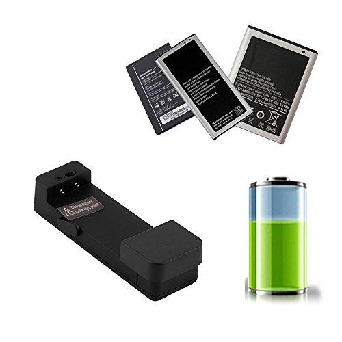 Berceau externe universel de dock de chargeur de batterie de téléphone portable noir pour Smartphone