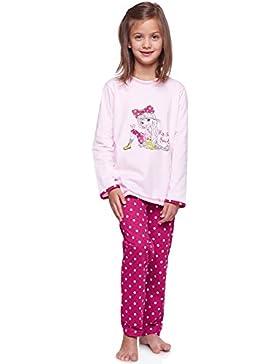 Merry Style Mädchen Schlafanzug 1162/1163