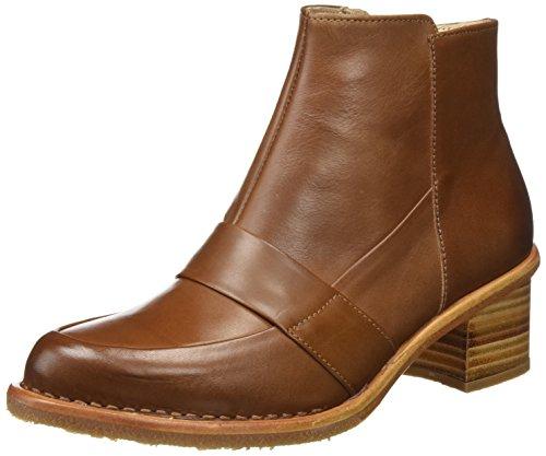 Neosens Damen S582 Restored Skin Cuero/Bouvier Kurzschaft Stiefel, Braun (Cuero), 39 EU (Botines De Cuero)