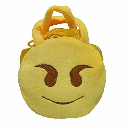 Imagen de goodsatar emoji lindo emoticon hombro escuela  para  infantil bolso de la  de la taleguilla a9  alternativa