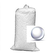 Saco de Perlas de Poliestireno Espandido 0,33 m3 (POLY033M3) (Bolitas, esferas o Perlas para relleno Sofas PUFF)