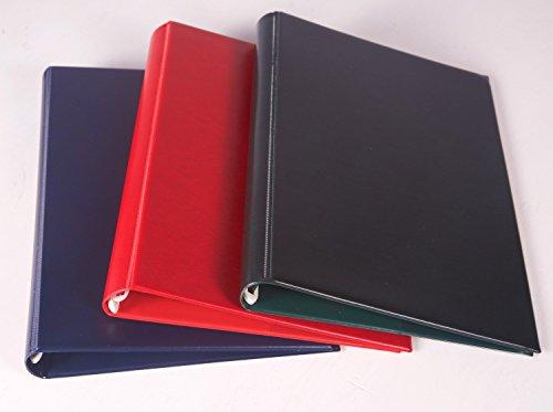 1x A4Magazin Binder/Magazin Präsentation Ordner/Magazin Halter–für bis zu 12Zeitschriften–viele Farben–hergestellt in Großbritannien rot (12x12 Oyster)