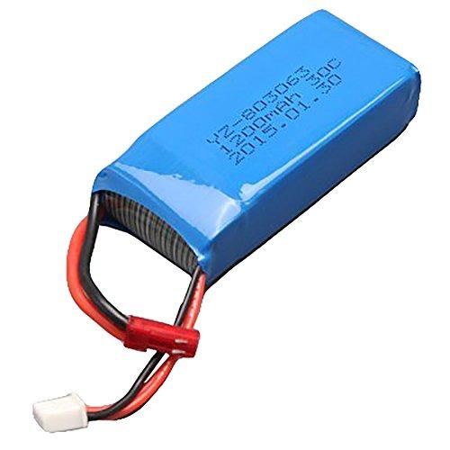 WayIn® Extra 7.4V 1200mAh Lipo batería para Yizhan Tarantula X6 / JJRC...