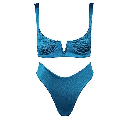 YJUNL Europa und die Vereinigten Staaten Neue Bikini -offene Felgen Hot Multicolor sexy Bikini Damen teilen