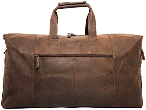 Leabags Sydney Reisetasche aus echtem Büffel-Leder