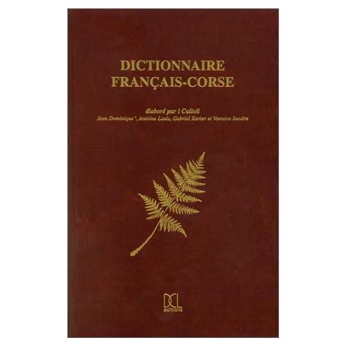 Dictionnaire français-corse