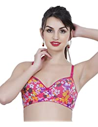 cbac7d9ea4 College Girl Pink Heavily Padded Bra (PrintPad05-Pnk)