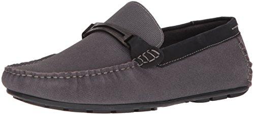 Steve Madden Men's Garland Loafer, Dark Grey, 8 M US
