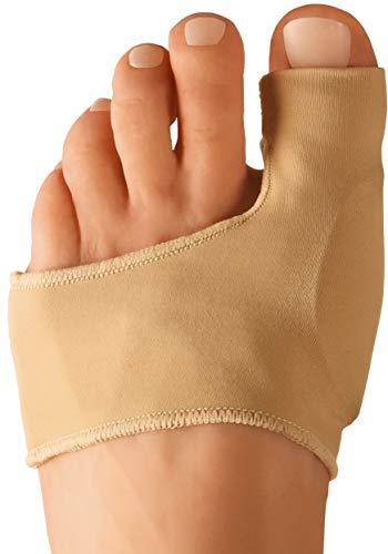 Dr. frederick's original fasce protettive per alluce valgo - 2 fasce per alleviare il dolore all'alluce valgo prima e dopo un intervento chirurgico - indossare con le scarpe - small - eu w35-38.5 / m36-38.5