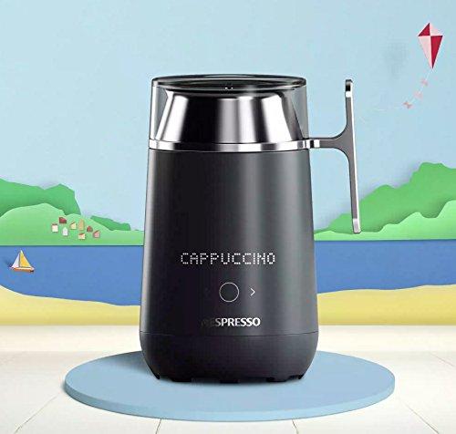 Nespresso Barista W10 Milchaufschäumer Connect - Edelstahl - App-Steuerung -