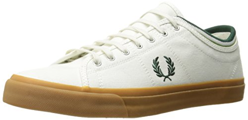 Fred Perry Kendrick Hommes Trainers White Gum