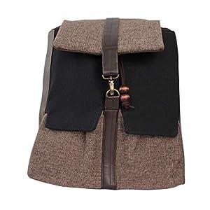 Rucksack Damen 33cm wasserdicht 'braun' | Tasche | HANDMADE | Geschenkideen für Frauen