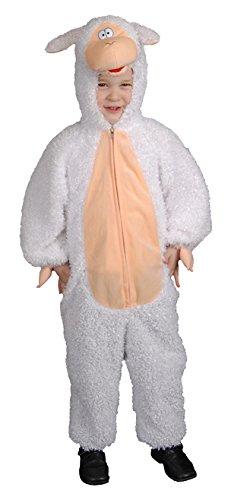 zückende Plüsch-Lamm-Kostüme für Kinder (Bräutigam Kostüm Für Kleinkind)