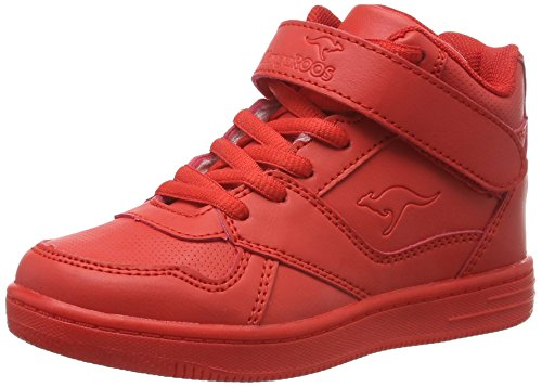 (KangaROOS Unisex-Kinder Skyline Kids High-Top, Rot (Red 600), 29 EU)