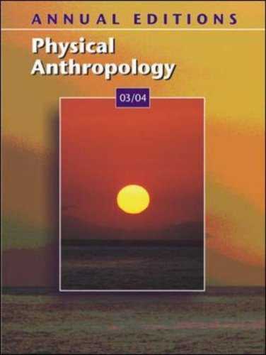 A/E Physical Anthrop 03/04 (Annual Editions: Physical Anthropology)