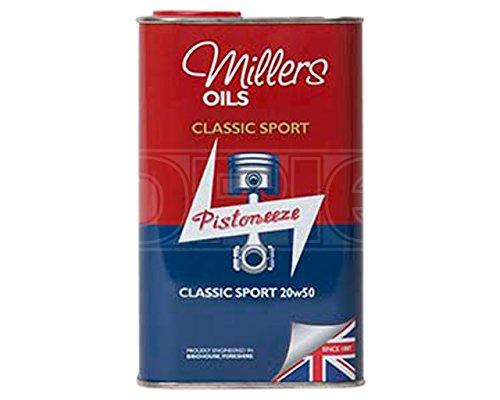 millers-oils-pistoneeze-classic-sport-20w-50-semi-synthetic-engine-oil-1-litre