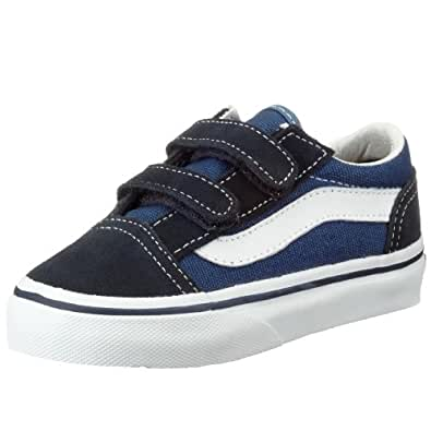 vans old skool v baskets mode mixte enfant chaussures et sacs. Black Bedroom Furniture Sets. Home Design Ideas